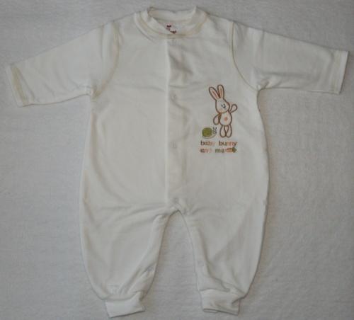 255a7e6d7b Pelikán hosszú ujjú rugdalózó Baby Bunny bézs – Pelikán bababolt