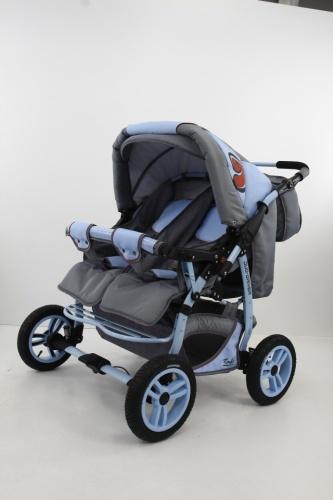 Tako Duo Driver ikerbabakocsi szürke-kék – Pelikán bababolt 153547c684